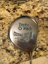 Women's Driver - Taylor Made Original One Pittsburgh Persimmon 12* Tampa, 33606