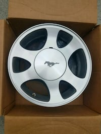 BUY NOW or never. Mustang 15x7 Like new.  4 Qty
