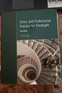 Ethics and Professional Practice for Paralegals Third Edition book Toronto, M3C