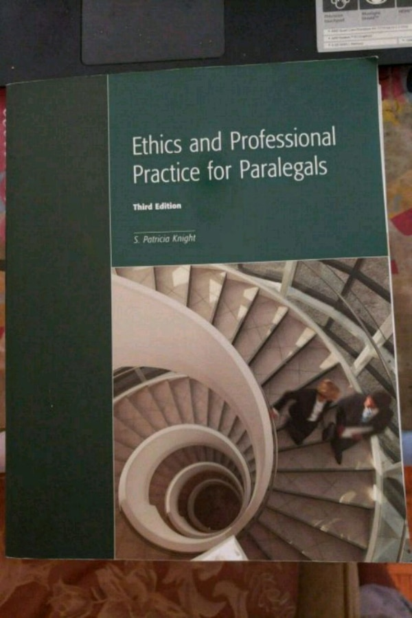 Ethics and Professional Practice for Paralegals Third Edition book