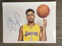 Autographed D'Angelo Russell 8x10 $40 each Larchmont, 10538