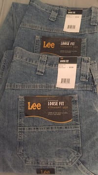 Men's Lee Carpenter jeans (2 pairs ) brand new, still has tags size 34x34 paid $48 a pair will sell for $30.00 each or $50 for both pair  Shenandoah Junction, 25442