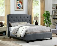 Queen Tufted bed frame  Las Vegas, 89109