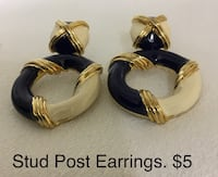 Stud Post Earrings Chesapeake, 23320