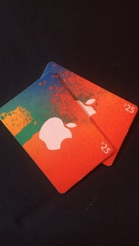 Apple iTunes gift cards 2 x $25 Edmonton, T5T 3L2