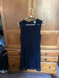 Lace dress dark blue Huntersville, 28078