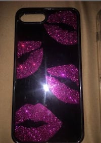 black and purple iPhone case Youngstown, 44514