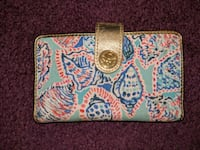 white, blue, and pink floral wallet Germantown, 20874