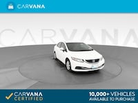 2013 Honda Civic sedan LX Sedan 4D White <br />