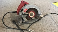 Gray and red corded Skilsaw circular saw New Carrollton, 20784