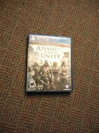 Assassin's Creed unity limited edition PS4 game Summerville