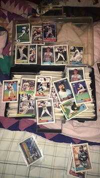 Assorted baseball player trading cards I have two boxes I will let both go for 125$ Mount Juliet, 37122