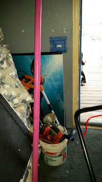 pink professional stripper pole
