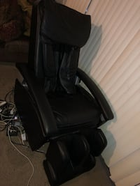 Leather massage chair  Lauderhill, 33351