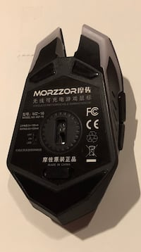 Black MORZZOR GAMING MOUSE Singapore