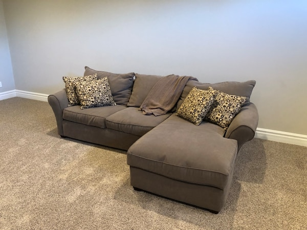 Used Furniture Love Seat Chase Lounge Couch Combo For Sale