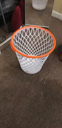white and orange plastic basket Morgantown, 26505