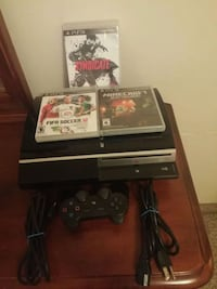 Ps3, with 3 games, one controll.
