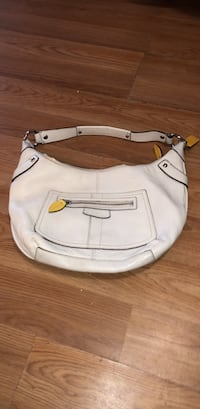 white leather 2-way bag Hamden, 06514