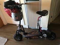 Awesomely hooked up Seated Electric Scooter!