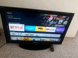 Samsung 32 inch tv with remote