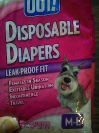 pet disposable diapers pack