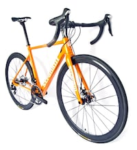 Orange Stradalli full carbon road disc bike brand new in the box medium size 54 retail is 3600$ on sale 1895$ brand new in box at pompano Stradalli location Pompano Beach, 33069