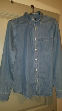 Abercrombie and Fitch Denim button down