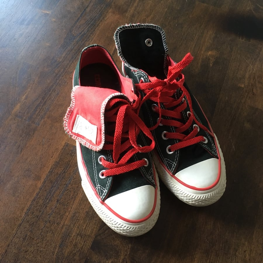Special edition converse shoes