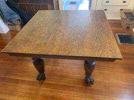 Antique Claw Foot Table - beautiful