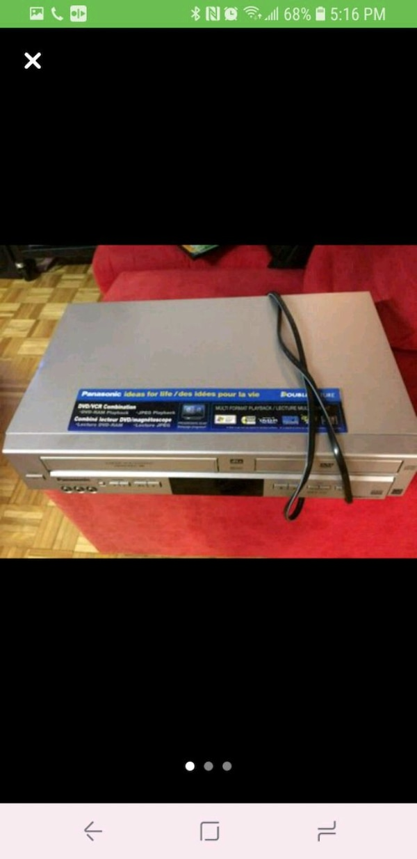 DVD & VHS player beb34a51-2ba7-40fc-ba49-2476909c6a77