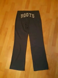 Women's Roots track pants size small asking $30