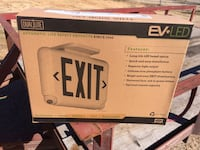 BRAND NEW DUAL LITE LED EXIT SIGN  1278 mi