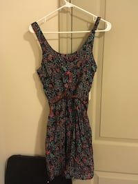 Multi-colored Floral Dress Houston, 77087