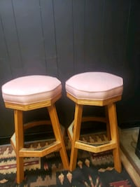 Pair of solid wood  Stoolsin great condition