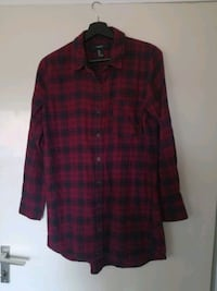 Red-black checkered flannel 6646 km