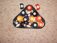 Set of 15 billiard/ pool balls Mississauga