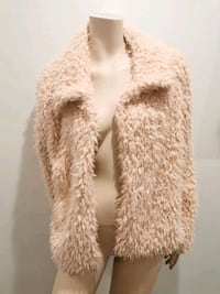 Pink Teddy style jacket