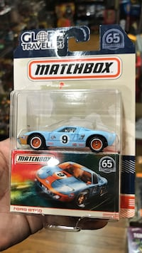 Matchbox Ford GT40 die cast model with pack Whittier, 90602