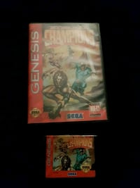 External champions for sega genesis Kitchener, N2P 1R7