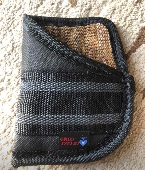 Pocket Holster American made solid stitching New fits in front or back  pocket