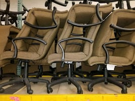 Made in USA office swivel chairs