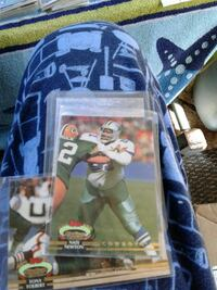NFL trading card collection
