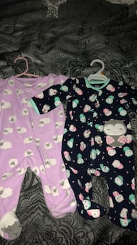 Baby's pink and white footie pajama Gainesville, 30504