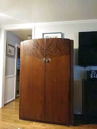 brown wooden wardrobe with mirror Corpus Christi, 78405