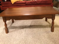 Beautiful maple coffee table. Edmonton, T5R 2E2
