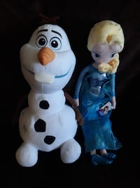 Frozen 2 plush toys - new with tags!