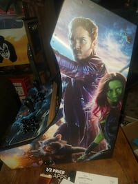 Guardians of the Galaxy themed bar top arcade game
