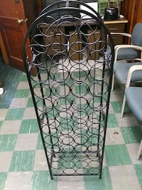 CAST IRON WINE RACK Baltimore, 21224