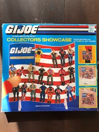 Vintage G.I.Joe collector showcase new in box toys. Vaughan, L4H 2C3